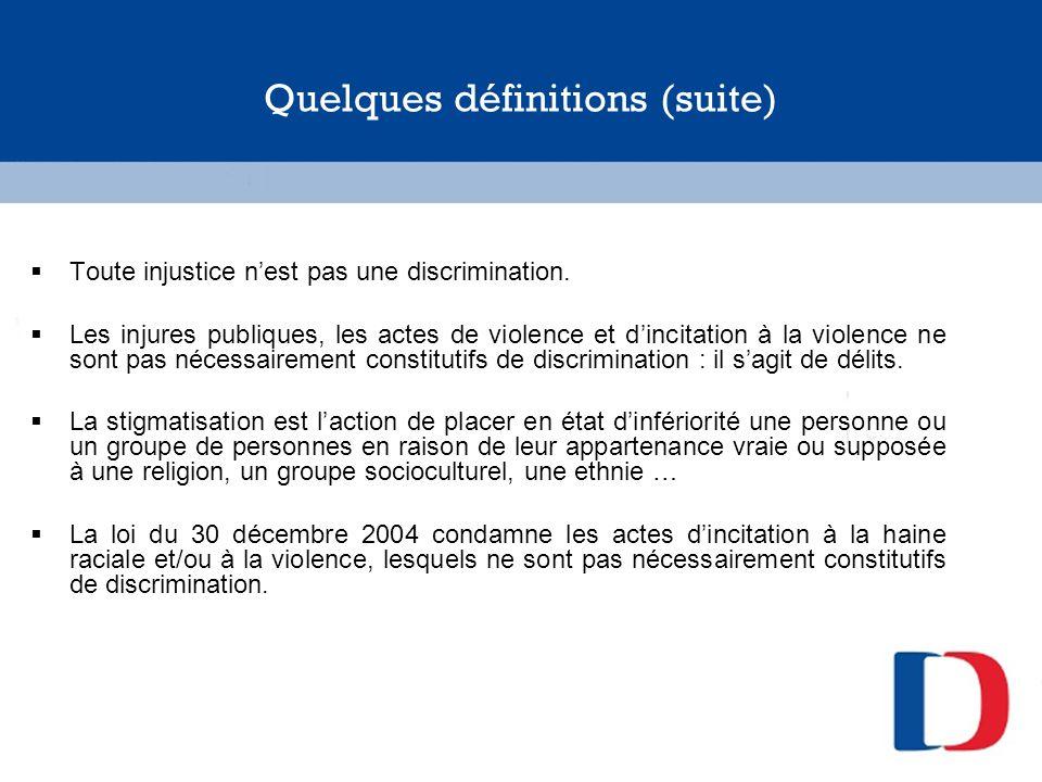 Comment dénoncer les discriminations .