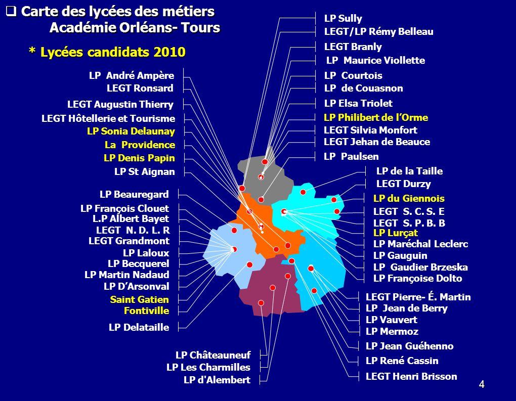 Lycées publics labellisés.