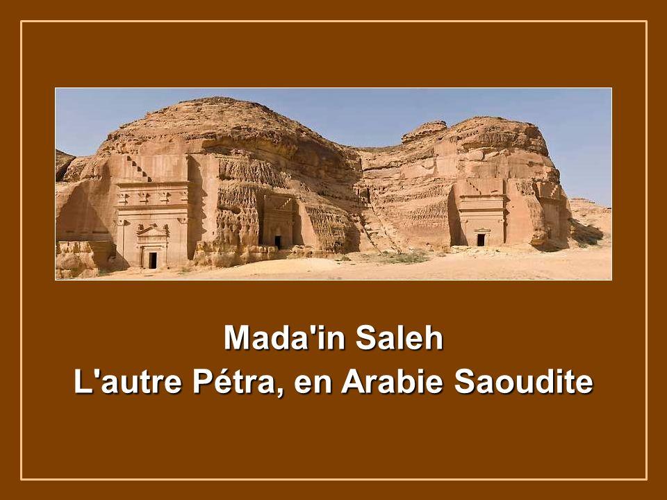 Mada in Saleh L autre Pétra, en Arabie Saoudite