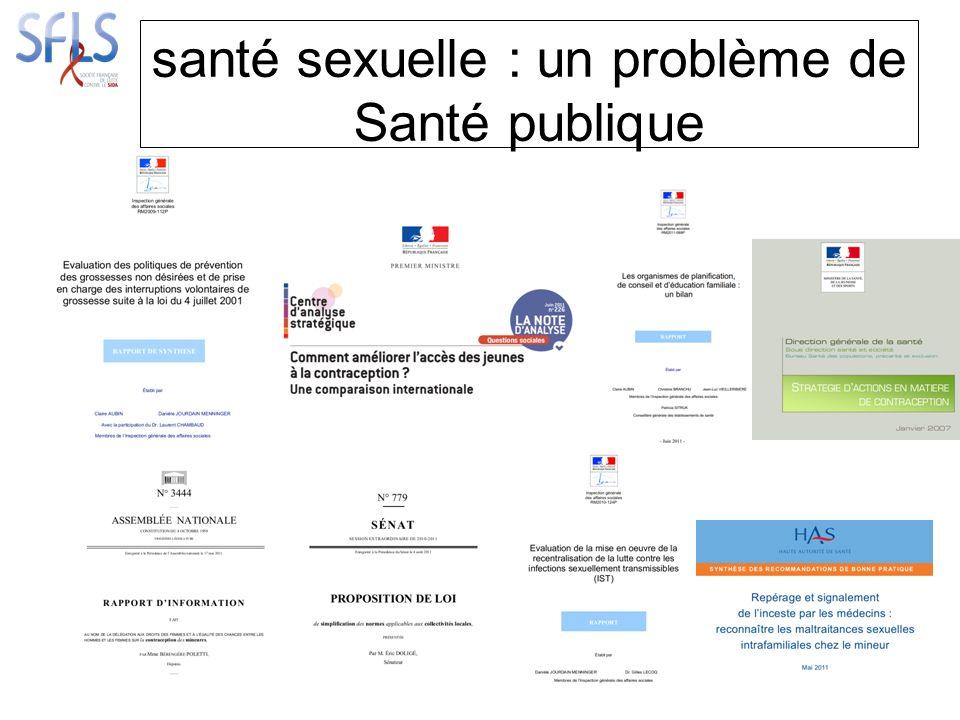 santé sexuelle : un problème de Santé publique