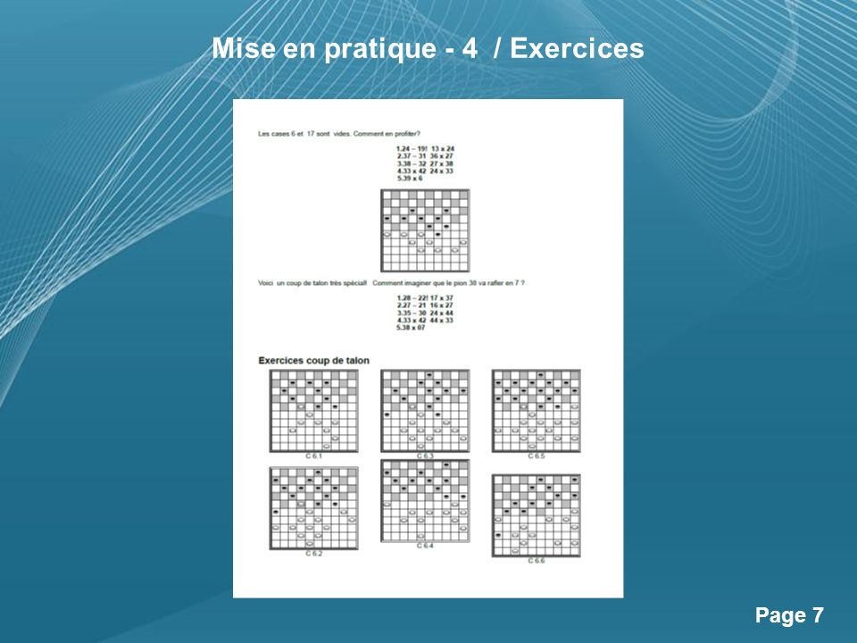 Powerpoint Templates Page 8 Exercices et Solutions