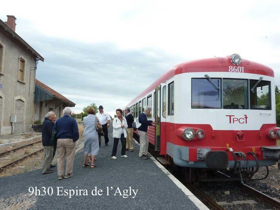 Train du pays Cathare et des Fenouillèdes Sortie du 18 juin 2011 organisée par Yves Siné et Ange Michel Groupe des Pyrénées Orientales Partenaire du F