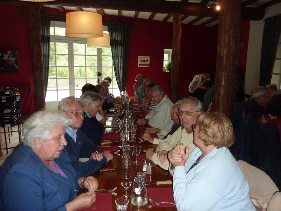 Au restaurant Le Rebenty