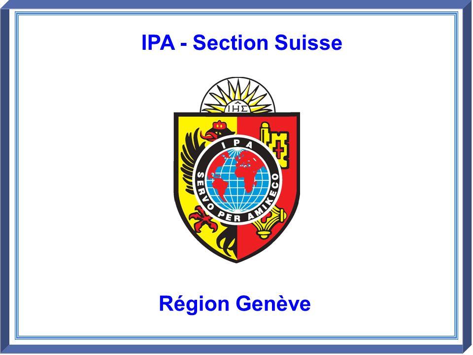 Région Genève IPA - Section Suisse