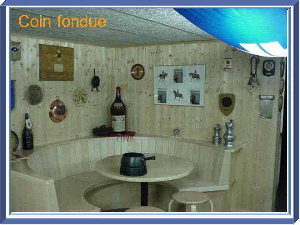 Coin fondue