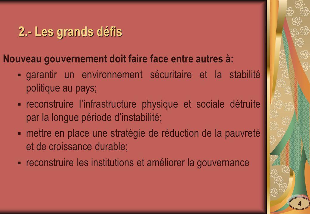 6.- Les Perspectives Le Plan stratégique de lutte contre la corruption est en préparation exploitant les résultats dune Enquête nationale sur la Gouvernance et la Corruption en Haiti.