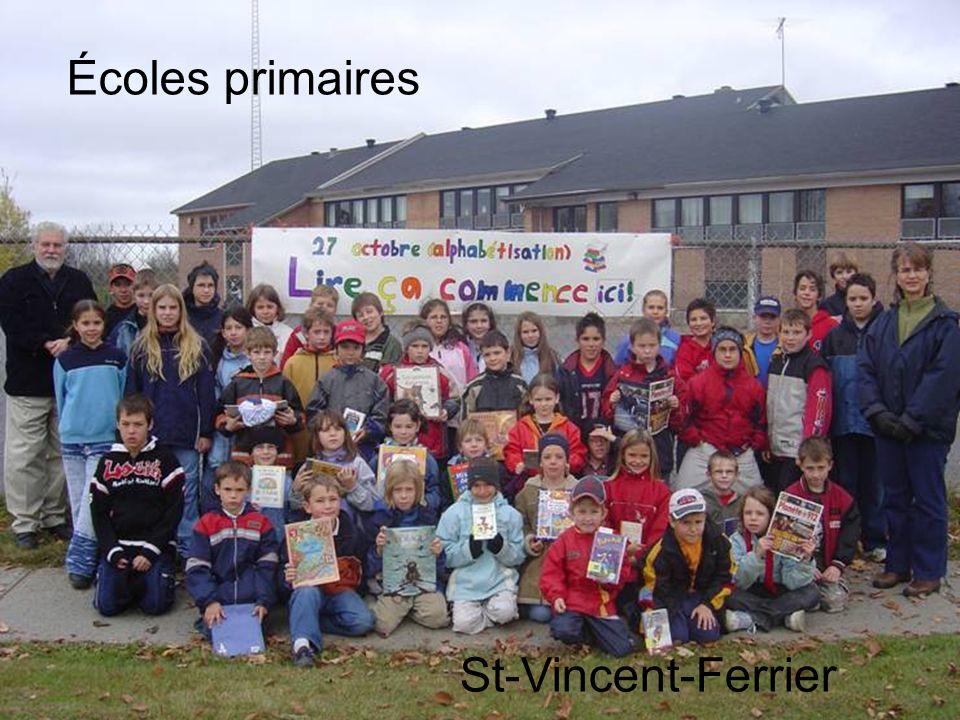 Écoles primaires St-Vincent-Ferrier