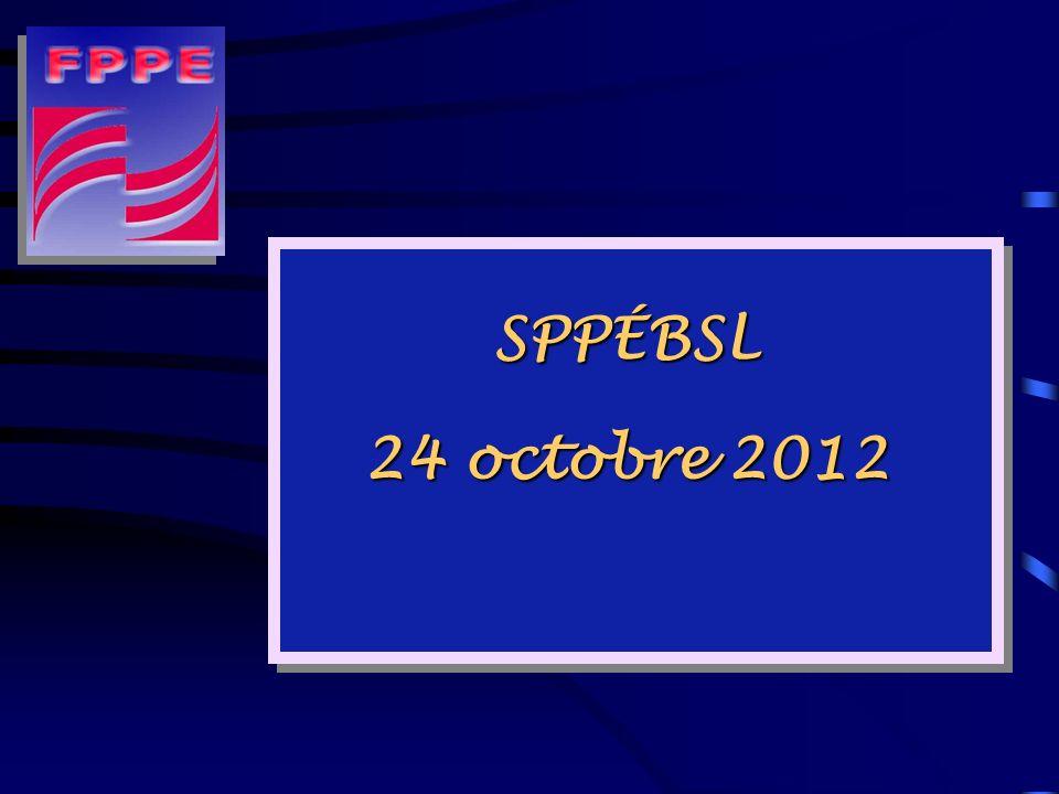 SPPÉBSL 24 octobre 2012