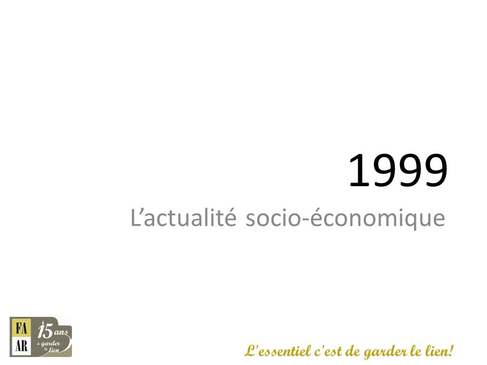 Carrefour de la nouvelle économie.