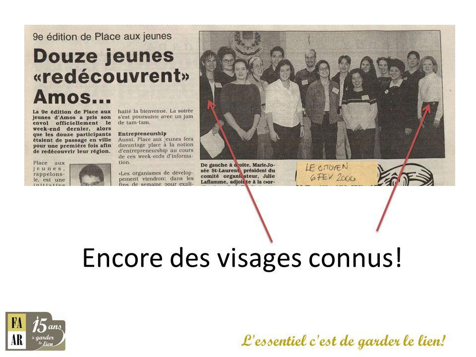 Valérie Jacob succède à Marie-Josée St-Laurent L essentiel c est de garder le lien.