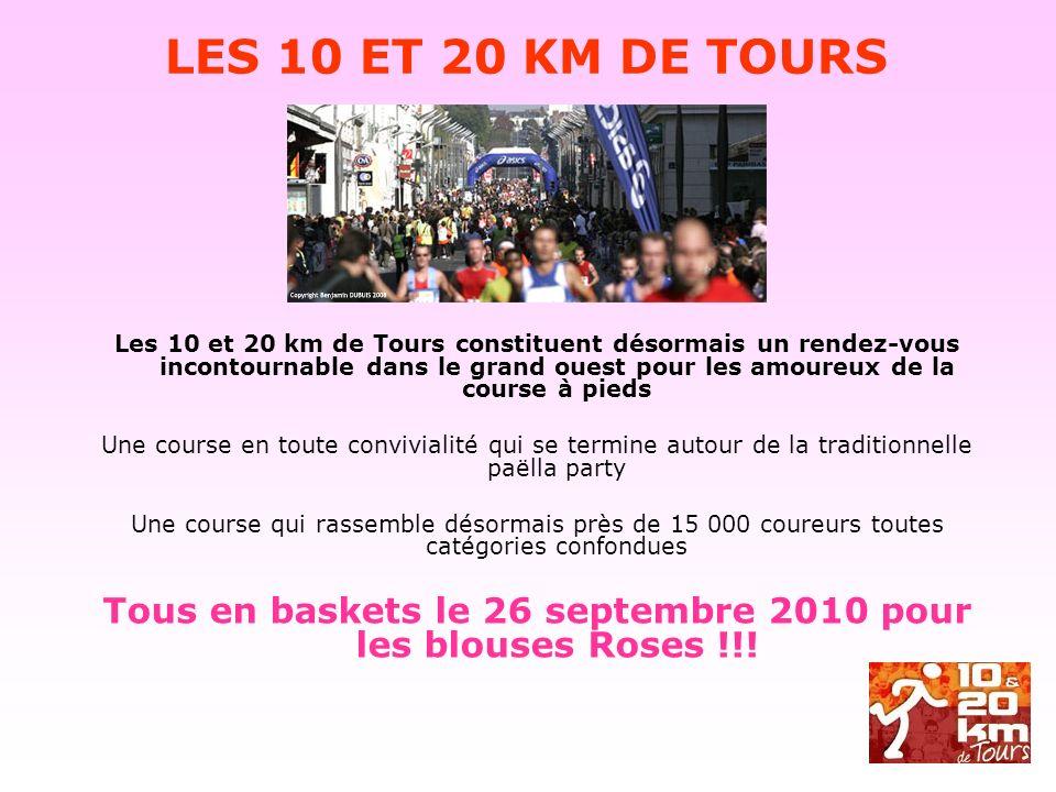Les 10 et 20 km de Tours constituent désormais un rendez-vous incontournable dans le grand ouest pour les amoureux de la course à pieds Une course en