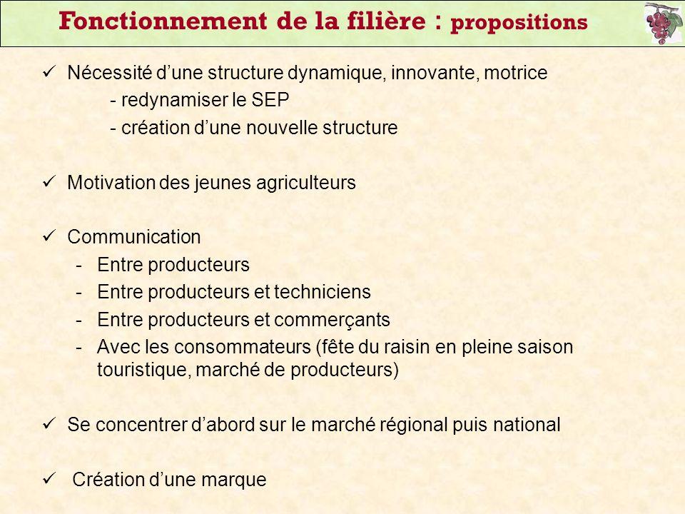 Nécessité dune structure dynamique, innovante, motrice - redynamiser le SEP - création dune nouvelle structure Motivation des jeunes agriculteurs Comm