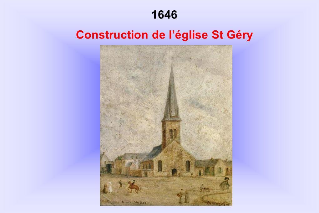 1646 Construction de léglise St Géry