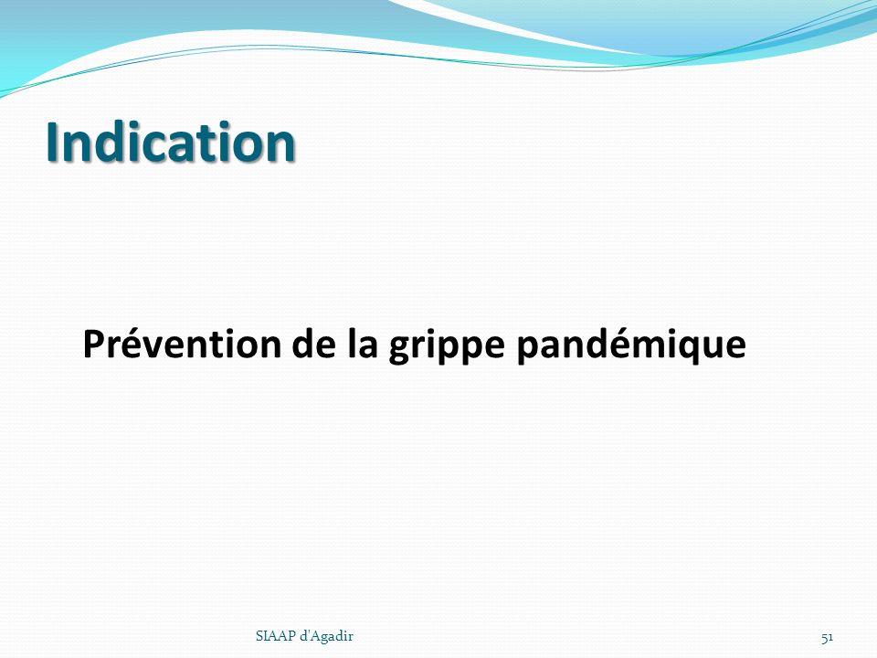 Indication Prévention de la grippe pandémique SIAAP d'Agadir51