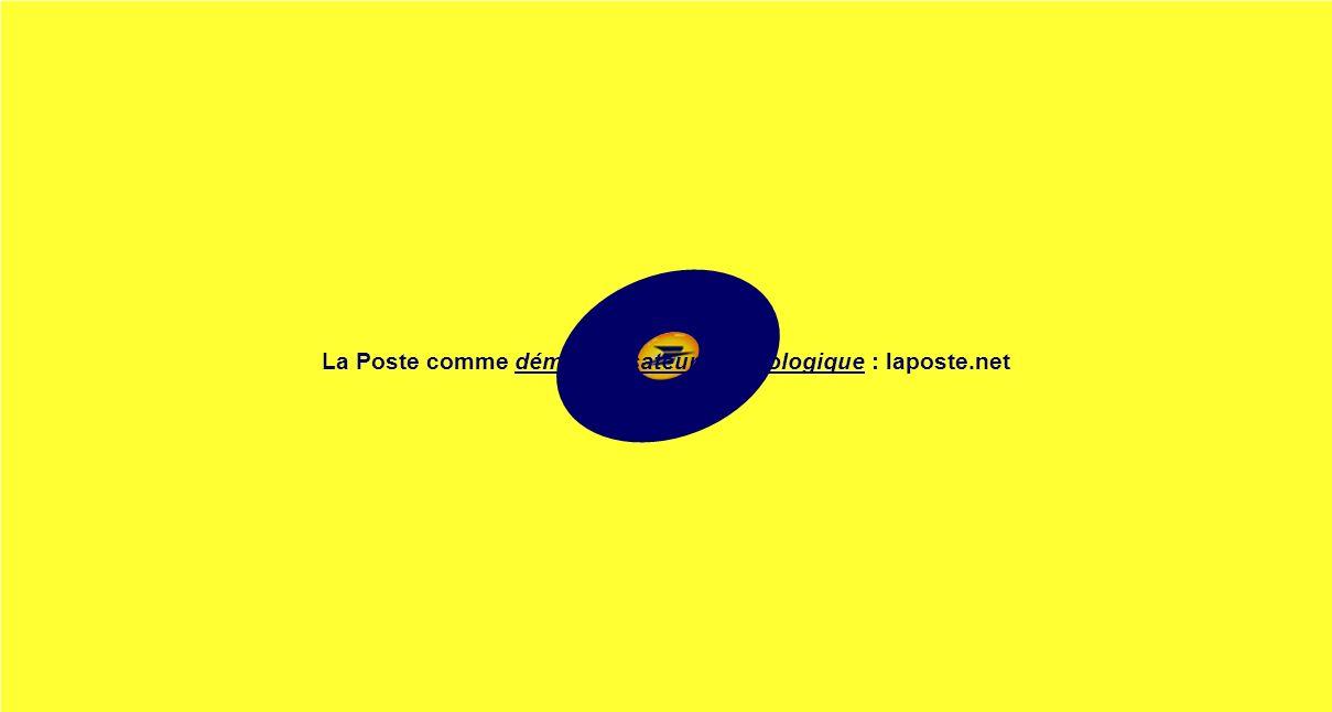 La Poste comme démocratisateur technologique : laposte.net