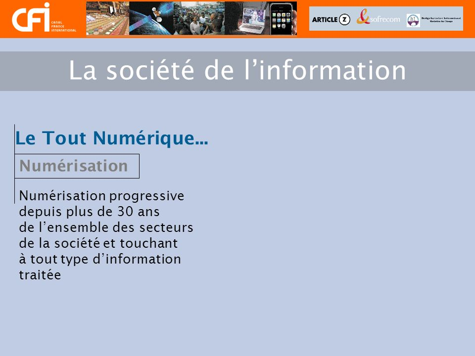 Sons - Images Telcos Câblo Diffuseurs TV Industriels Transmission numérique Commerce Jeux Presse Culture Loisir Pub.