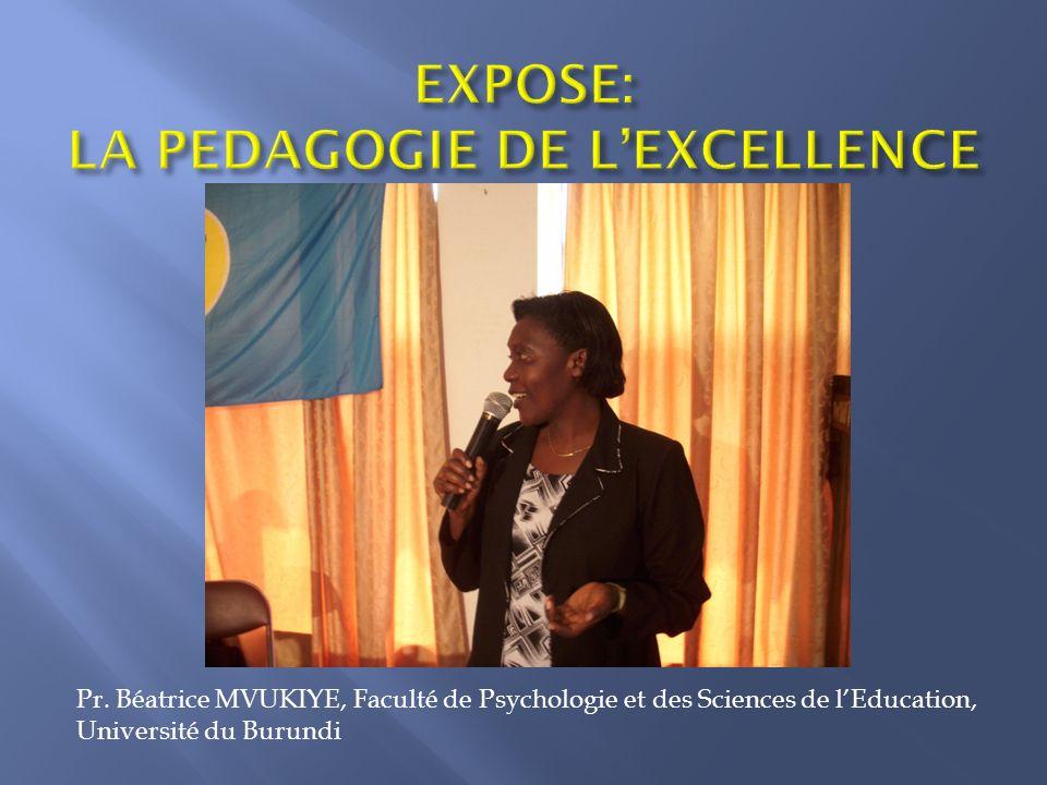 « Aspects pédagogiques dans la promotion de la qualité de lenseignement à tous les niveaux: primaire, secondaire, supérieur »