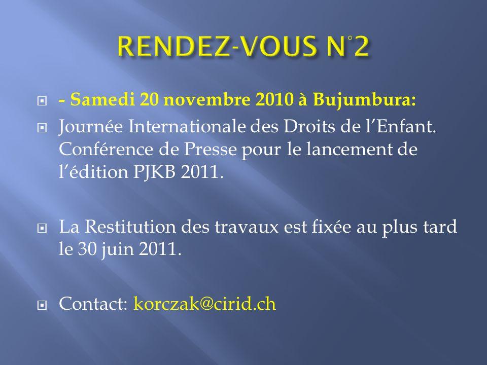 Pour les universités privées et publiques 3 e Journée de Réflexion sur lExcellence Académique et remise du Prix Janusz Korczak Burundi 2012 Bujumbura, juin 2012 Palais des Arts et de la Culture