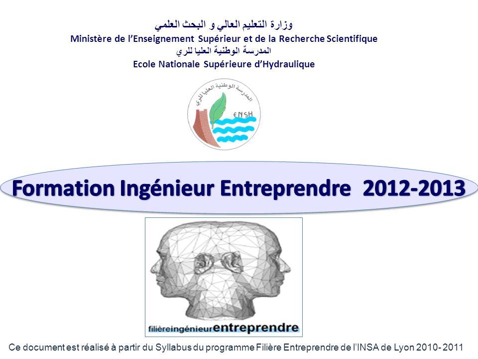 Le programme pédagogique se déroule en trois phases 1.Ante-programme N ovembre à Février 2.Inno-Lab La première quinzaine de Février 3.Programme intensif F évrier à Juin OBJECTIFS STRATÉGIE PÉDAGOGIQUE SYSTÈME DÉVALUATION DATES CLÉS DE LA FIE PROGRAMME CONCEPT FIE/DZ VALEURS De la FIE Formation Ingénieur Entreprendre 2013
