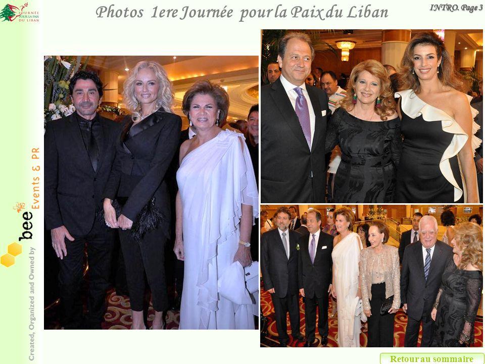 Retour au sommaire Photos 1ere Journée pour la Paix du Liban INTRO. Page 3