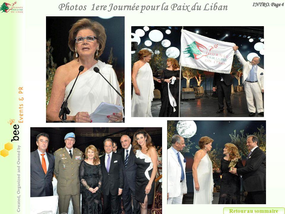Retour au sommaire Photos 1ere Journée pour la Paix du Liban INTRO. Page 4