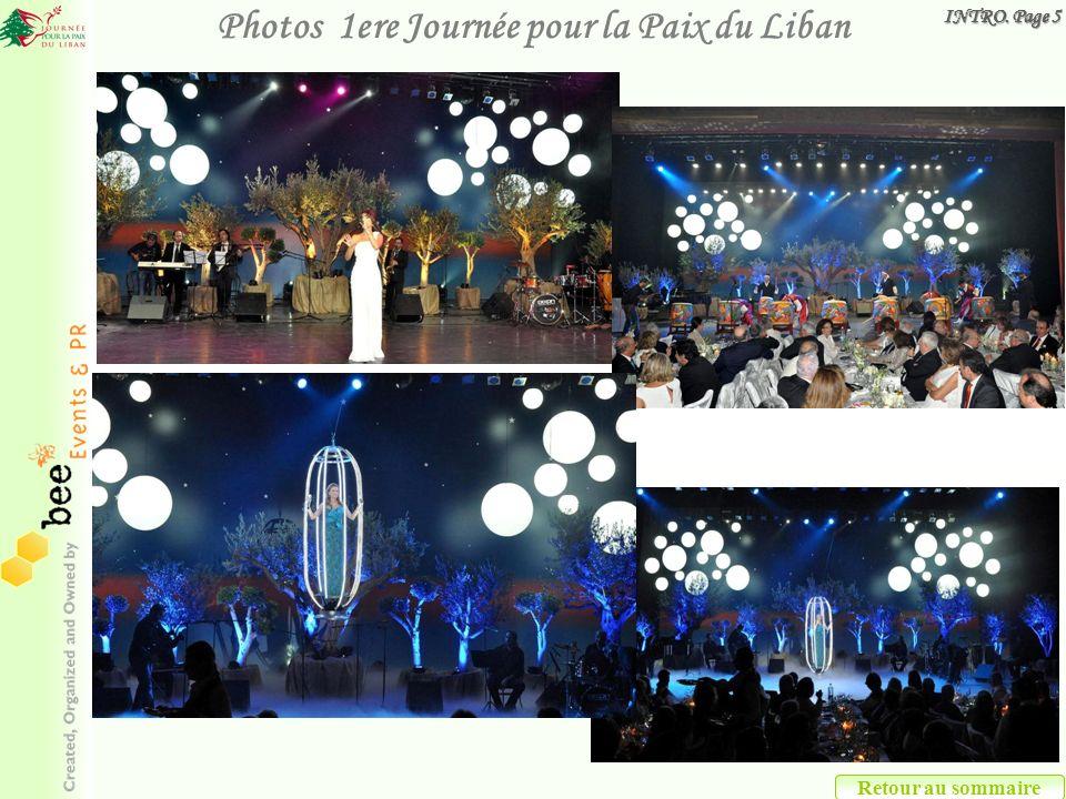 Retour au sommaire Photos 1ere Journée pour la Paix du Liban INTRO. Page 5