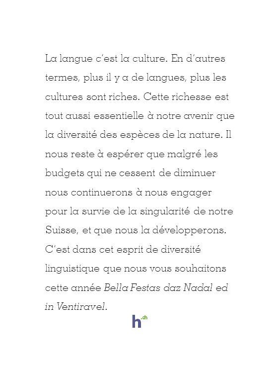 La langue cest la culture.