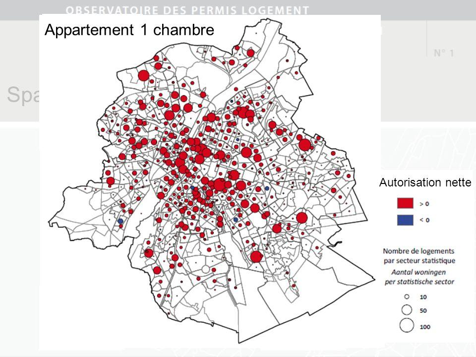Spatialisation des phénomènes Studios Autorisation nette Appartement 1 chambre Autorisation nette
