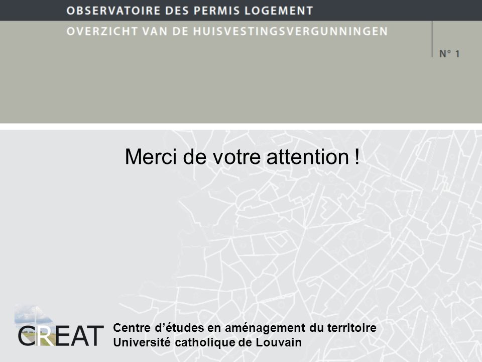 Merci de votre attention .