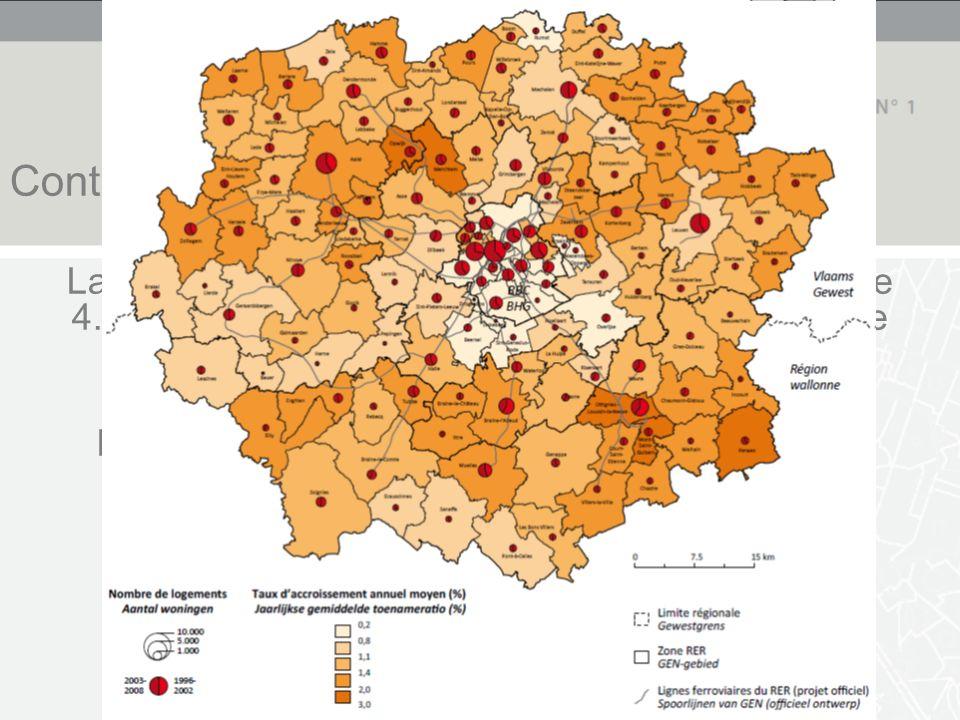 Spatialisation des phénomènes Appartement 4 chambres et + Autorisation nette Maisons unifamiliales Autorisation nette