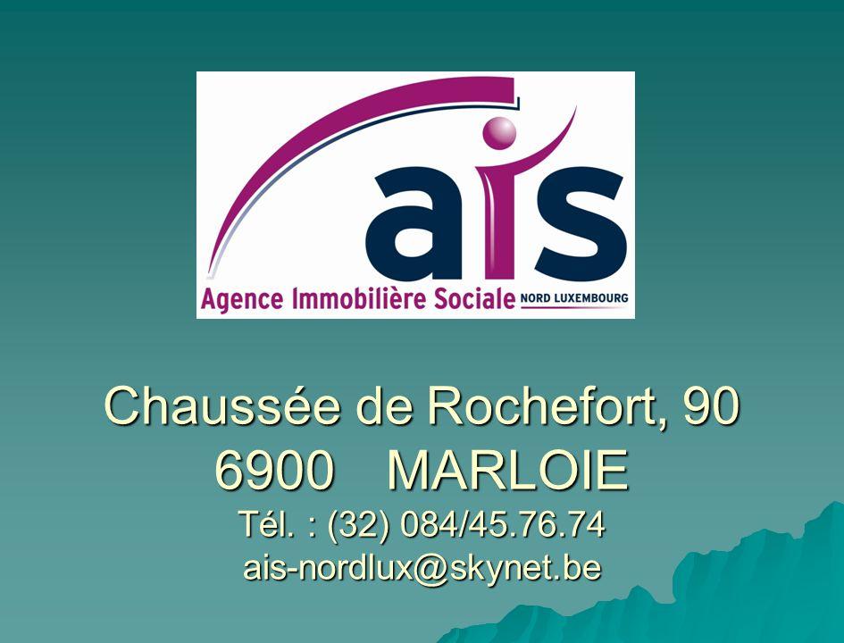 LAgence Immobilière Sociale est une Association sans but lucratif agréée et subsidiée par la Région Wallonne.