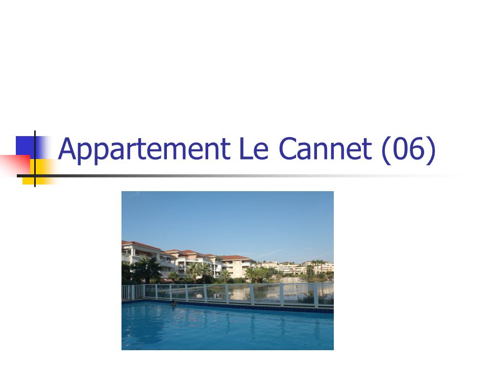 Appartement Le Cannet (06)