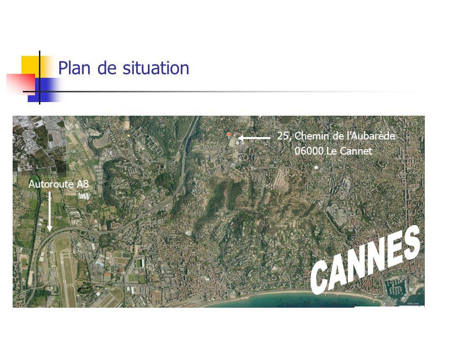 Plan de situation RESIDENCE « CANNET LE LAC »