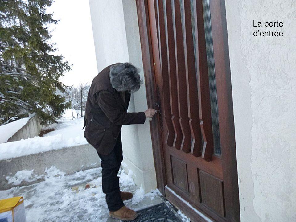 La porte dentrée