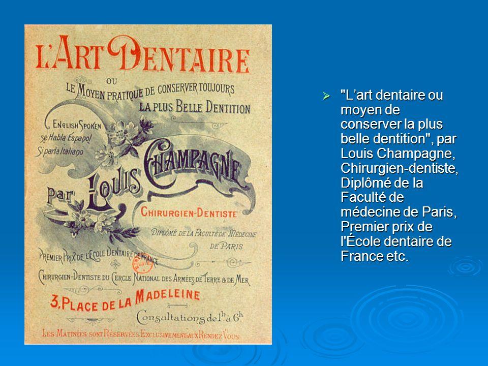 Sur la photo du cabinet du Boulevard Voltaire, Louis Maurice Champagne à vingt cinq ans.