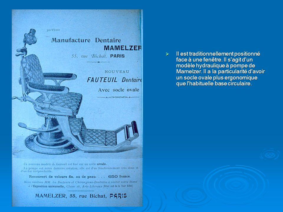 Au début du XXème siècle la plupart des dentistes ont recours à la publicité pour se faire connaître comme celle du cabinet dentaire du 31 Boulevard Bonne Nouvelle.