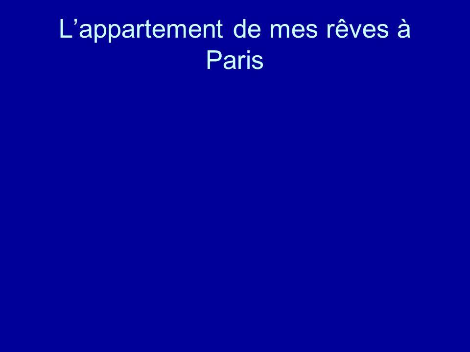 Lappartement de mes rêves à Paris