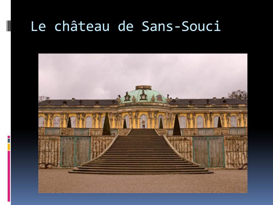 Le château de Sans-Souci
