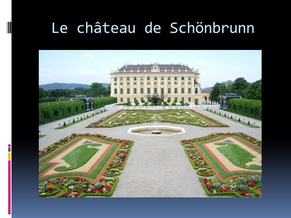 Le château de Schönbrunn