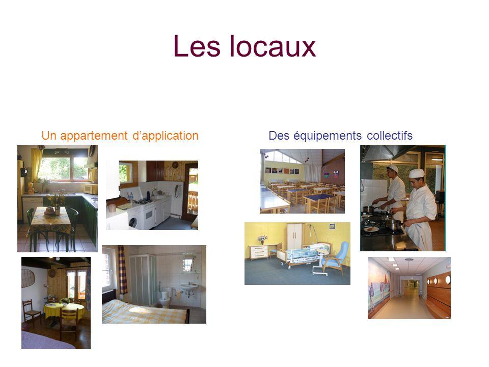 Les locaux Un appartement dapplicationDes équipements collectifs