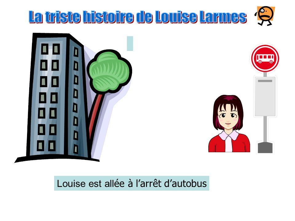 Louise est descendue dans lascenseur Et elle est sortie dans la rue