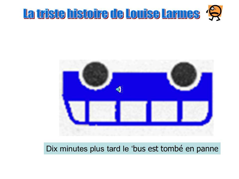 Le bus est parti