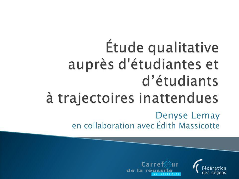 Denyse Lemay en collaboration avec Édith Massicotte