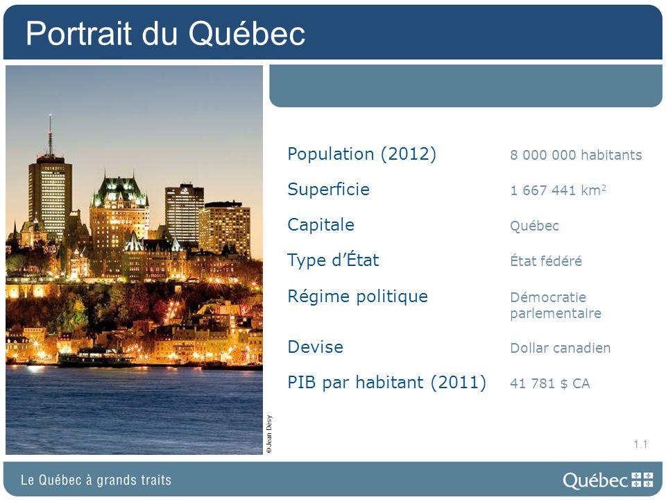 Le Québec … et ses voisins 1.2
