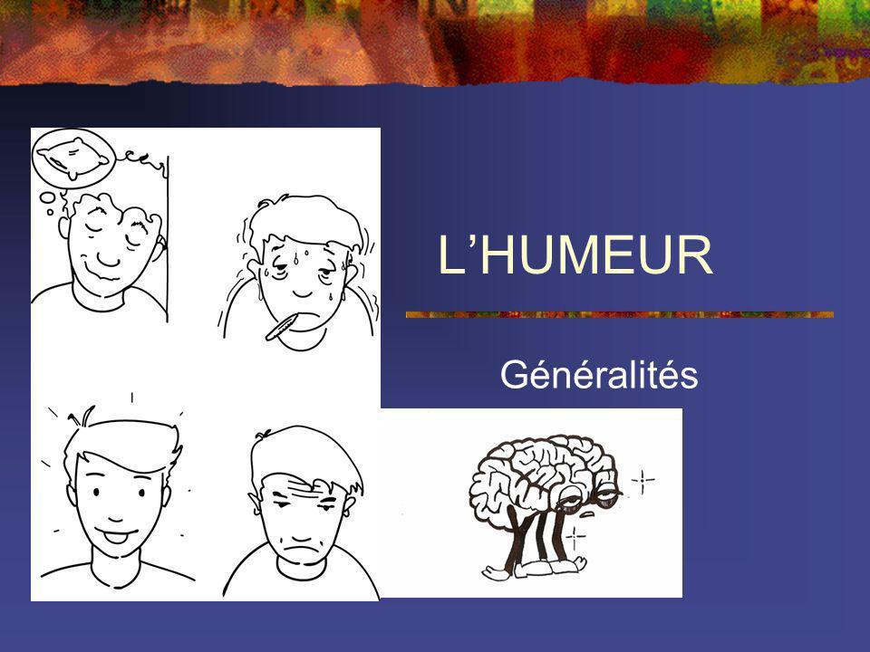 LHUMEUR Généralités