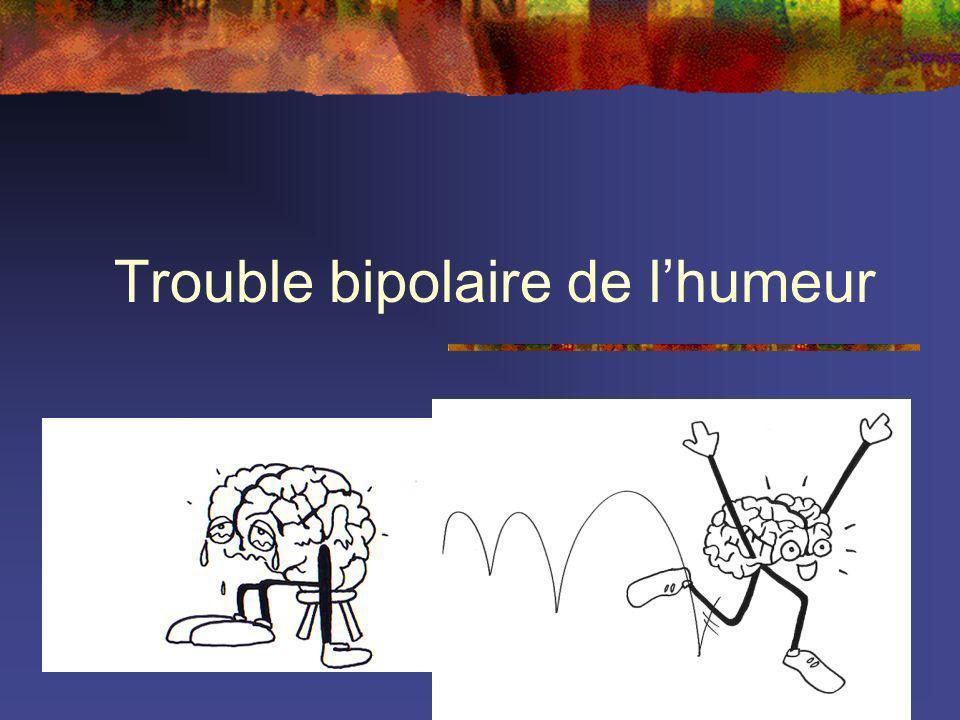 Trouble bipolaire de lhumeur
