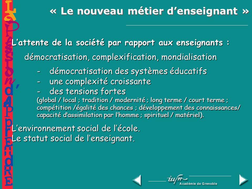Commission nationale française de lUnesco, 2000 Vous avez semé en moi ces graines de mots qui continueront toujours de croître Enseigner est un métier ; ce nest pas seulement un art Quatre questions: 1.