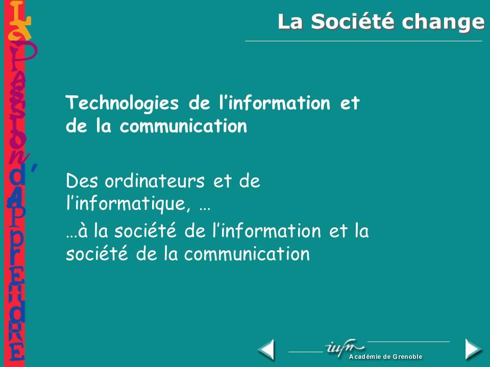 Enseigner à lère de linformation et de la communication : quel métier !.