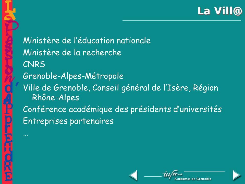 La Vill@ La Vill@, institution européenne, contribue à la mise en oeuvre du plan daction eEurope du Conseil et de la Commission européenne, notamment pour faire entrer la jeunesse européenne dans lère numérique et pour travailler dans léconomie de la connaissance.
