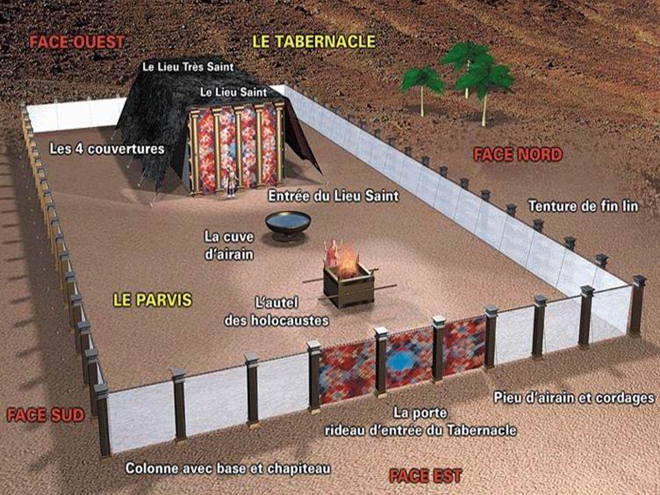 Le Parvis Exode 40:33 Il dressa le parvis autour du tabernacle et de lautel, et il mit le rideau à la porte du parvis.